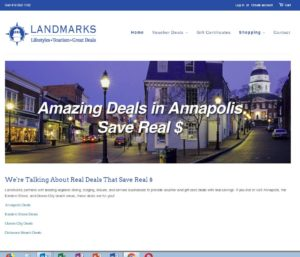 LandmarksGreatDeals.com Shopify Website by Rational Commerce Company