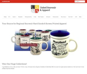 United Souvenir & Gifts Shopify Website by Rational Commerce Company